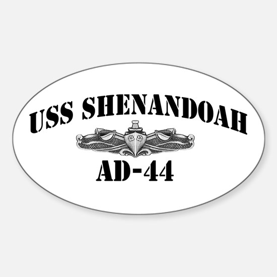 USS SHENANDOAH Sticker (Oval)