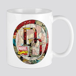 Daredevil Collage Mug