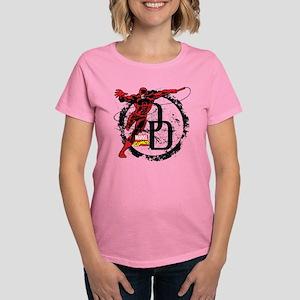 Daredevil Action Pose Women's Dark T-Shirt