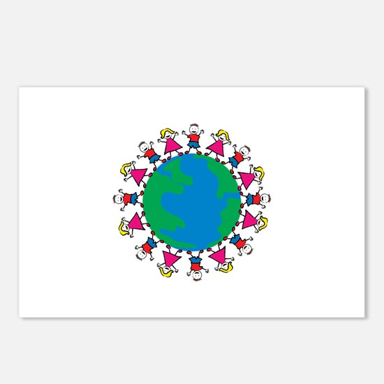 World Peace Children Postcards (Package of 8)