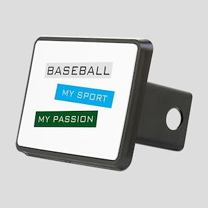 Baseball Rectangular Hitch Cover