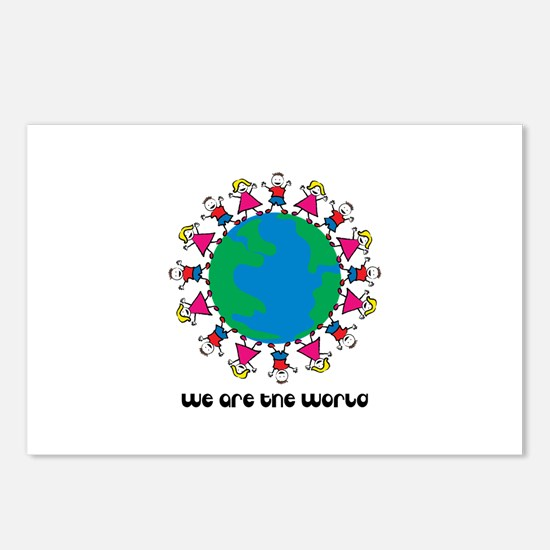 We Are The World Postcards (Package of 8)