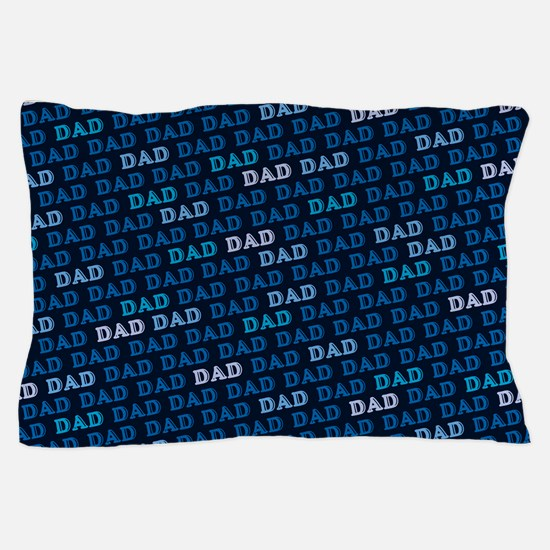 Dad Pattern Pillow Case