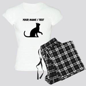 Custom Cat Sitting Pajamas