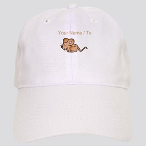 Custom Brown Mouse Baseball Cap