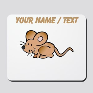 Custom Brown Mouse Mousepad