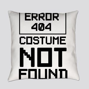 Error 404 costume not found Everyday Pillow