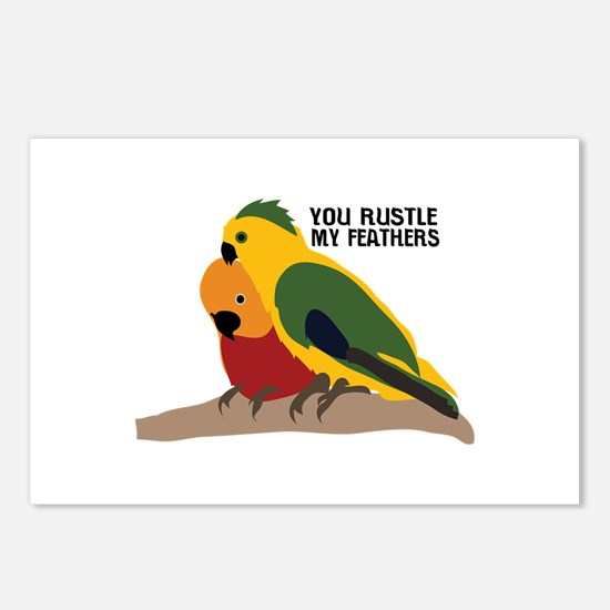 You Rustle My Feathers Postcards (Package of 8)