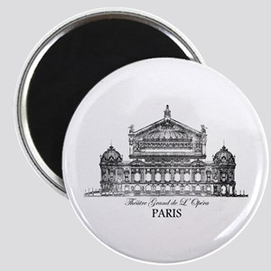 Vintage Grand Opera House, Paris Magnet