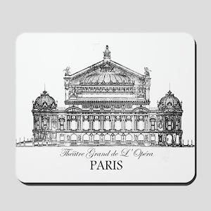 Vintage Grand Opera House, Paris Mousepad