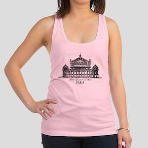 Vintage Grand Opera House, Pari Racerback Tank Top