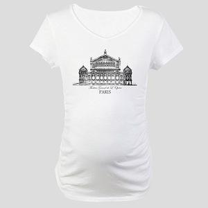 Vintage Grand Opera House, Paris Maternity T-Shirt