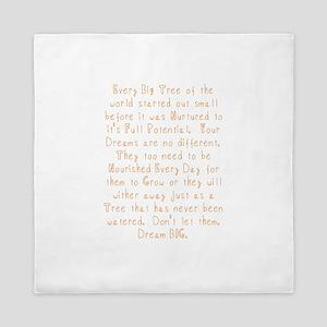 Nurture Your Dreams Queen Duvet