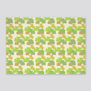 Ginkgo Leaves 5'x7'Area Rug