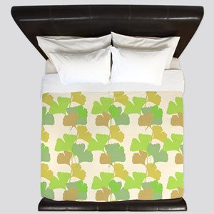 Ginkgo Leaves King Duvet