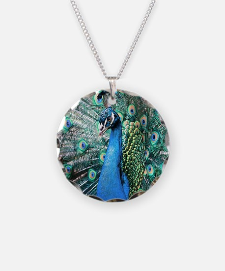Beautiful Peacock Necklace