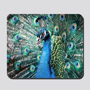 Beautiful Peacock Mousepad