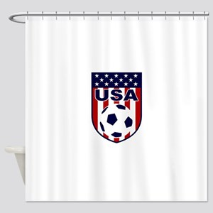 USA soccer Shower Curtain