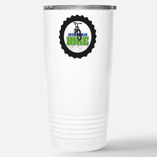 Mountain Bike Stainless Steel Travel Mug