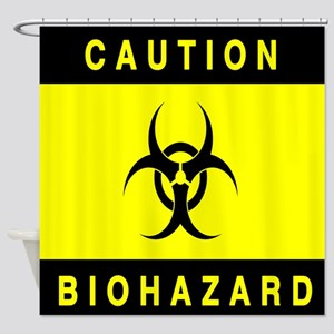 Bio-Hazard Shower Curtain