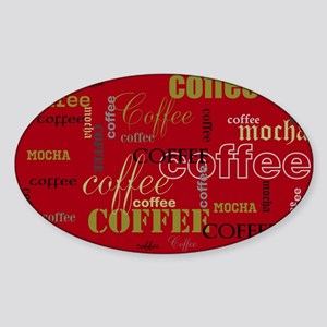 Coffee or Your Text Here Sticker