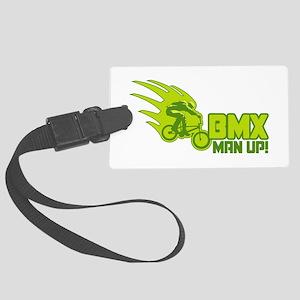 BMX Man Up Large Luggage Tag