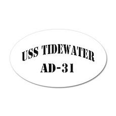 USS TIDEWATER Wall Decal