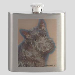 scottish terrier Flask