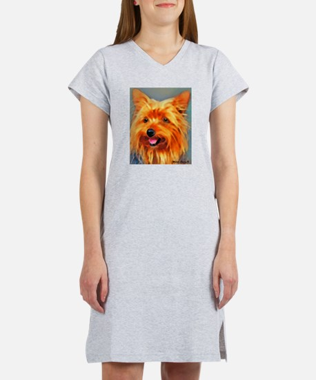 Yorkshire Terrier Women's Nightshirt