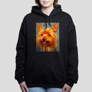 Yorkshire Terrier Women's Hooded Sweatshirt