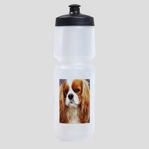 cavalier king charles spaniel Sports Bottle