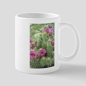 Pink Flower Cactus Mug