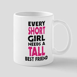 (SHORT GIRL - TALL GIRL) BFF Mugs