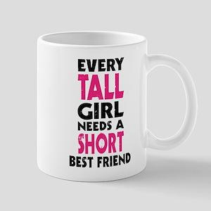 (TALL GIRL - SHORT GIRL) BFF Mugs