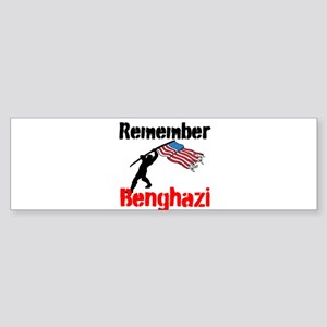 Remember Benghazi Bumper Sticker