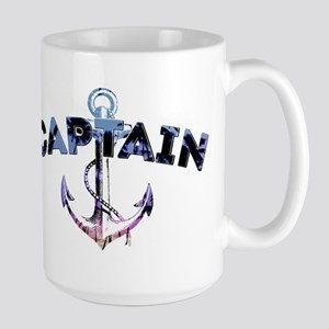 Boat Captain Large Mug