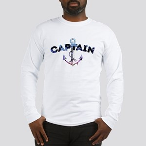Boat Captain Long Sleeve T-Shirt