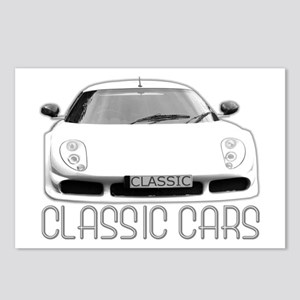 ...Classic Cars... Postcards (Package of 8)