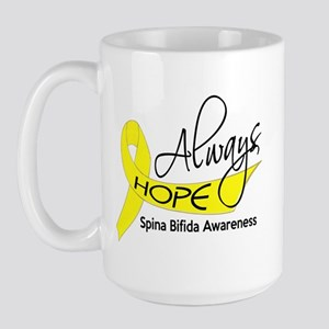 Spina Bifida AlwaysHope1 Large Mug
