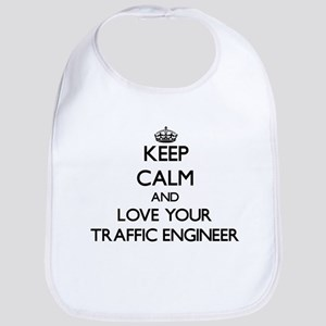 Keep Calm and Love your Traffic Engineer Bib