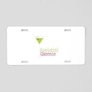 Appletini Queenie Aluminum License Plate
