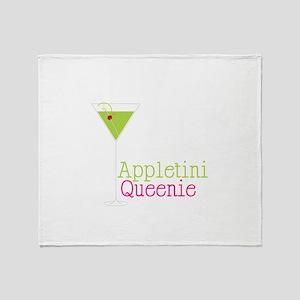 Appletini Queenie Throw Blanket