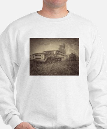 Farm Truck And Grain Elevator Sweater