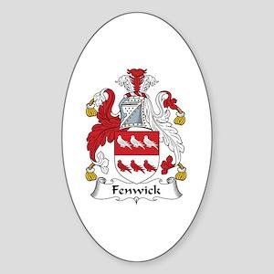 Fenwick Oval Sticker