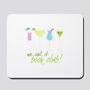 we call it book club! Mousepad