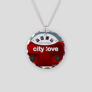 city love dwntn LA view master Necklace