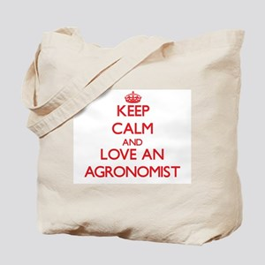 Keep Calm and Love an Agronomist Tote Bag