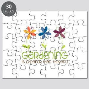 gardening is cheaper than therapy Puzzle