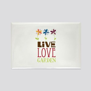 Live Love Garden Magnets