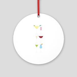 Drinks Ornament (Round)